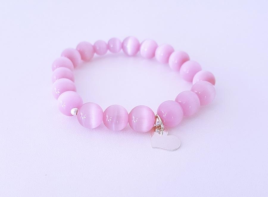 e07b4b2c1a7 Rõõmsameelsus - roosa kassisilm ja 925 hõbe - Mirsii